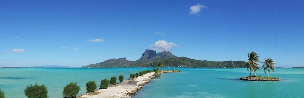 Bora Bora 💙 #throwbackthursday