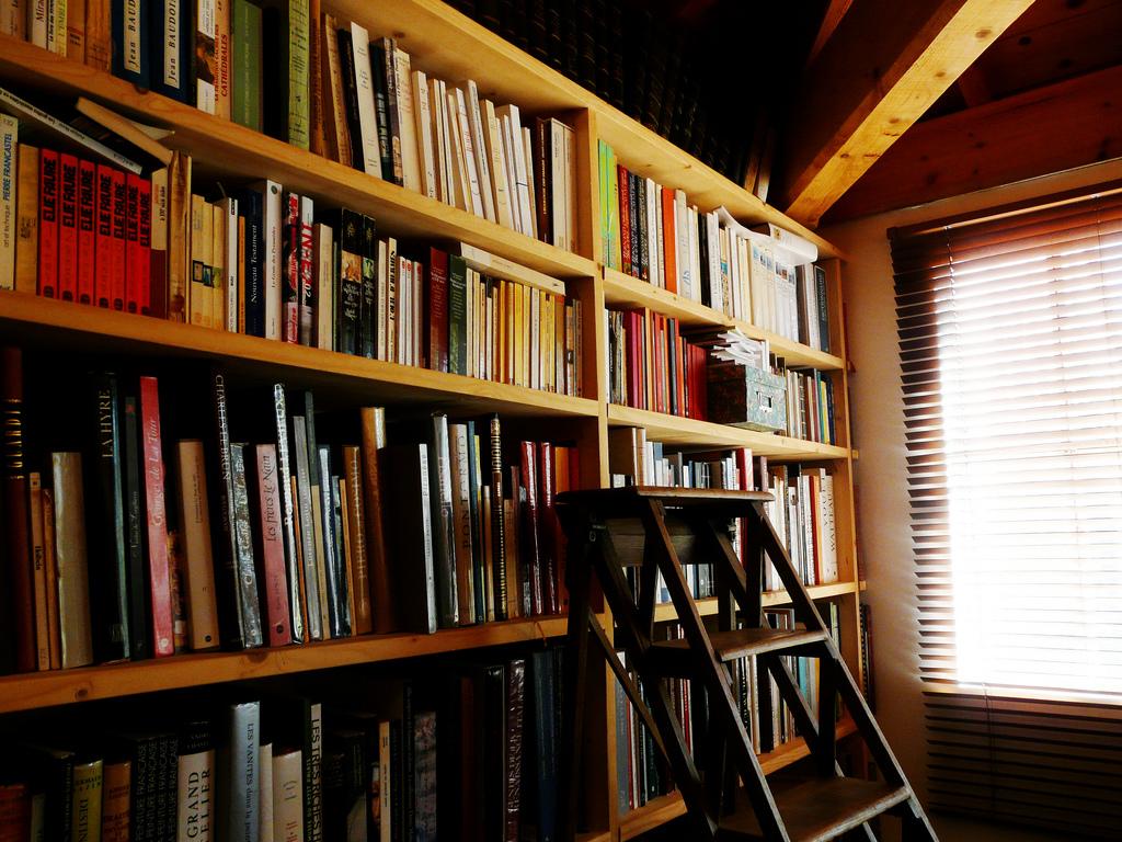 Un tumblog dedicado a estantes llenos de libros en bibliotecas alrededor del mundo.