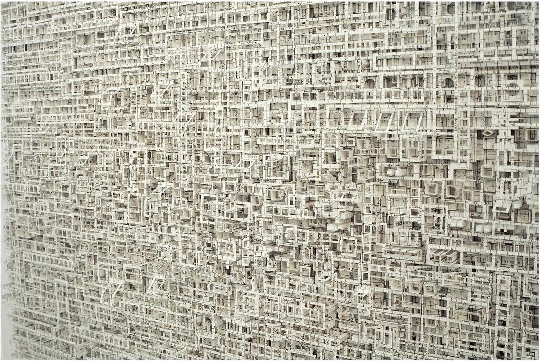 El intrincado arte en papel de Katsumi Hayakawa.