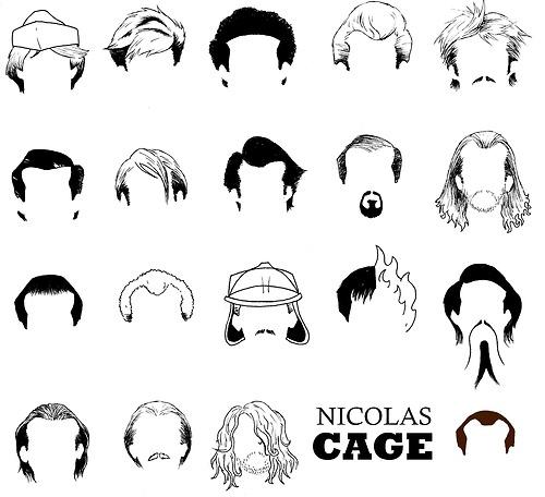 A Derek Eads se le ocurrió armar un juego en el que hay que adivinar las películas en las que trabajó Nicolas Cage de acuerdo al peinado que usó en cada una de ellas. Para los impacientes, acá están las respuestas. (vía)