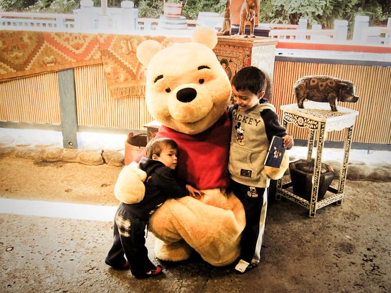 Gonzalo, Pooh y Mateo (Octubre 2009)