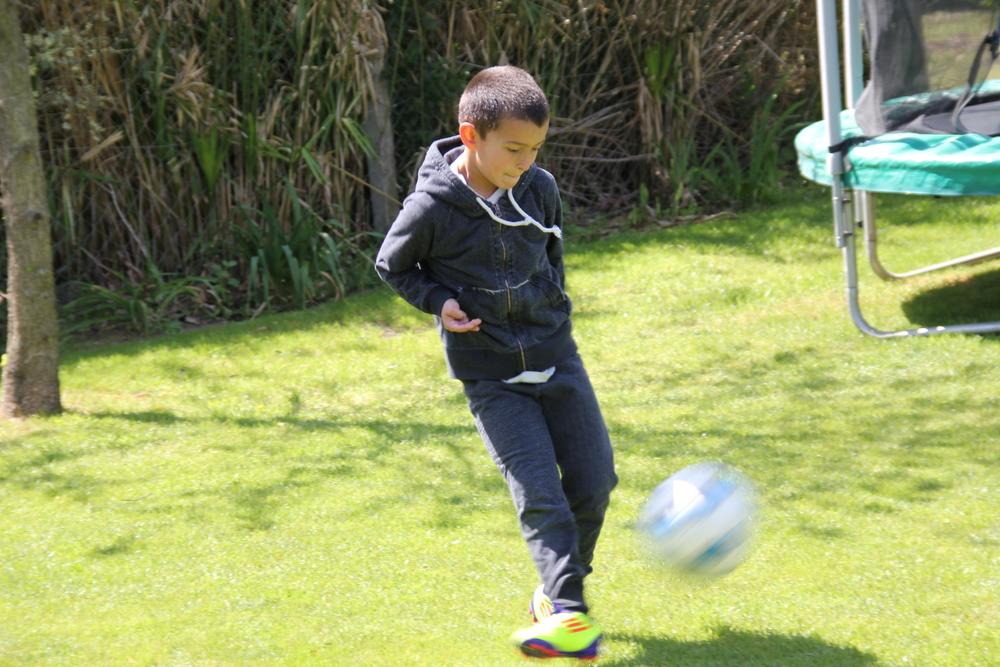 Mateo y la pelota