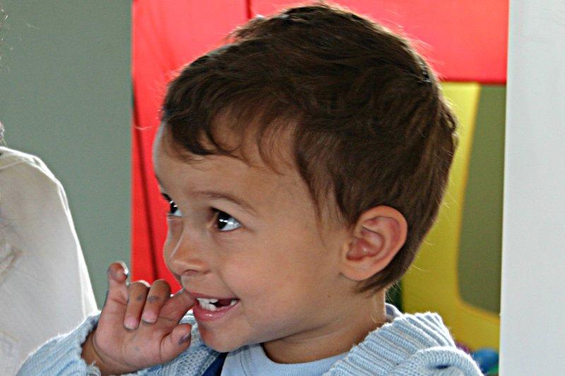 Mateo cumpliendo dos años