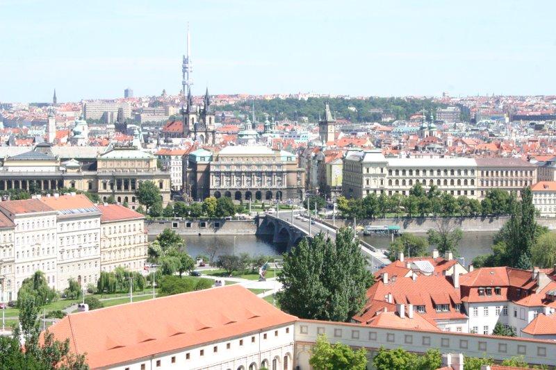 Praga desde lo alto