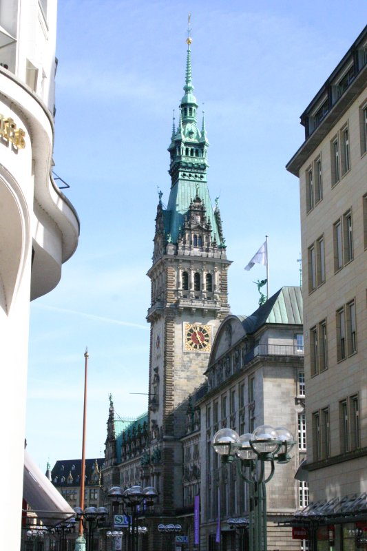 Torre de la municipalidad de Hamburgo