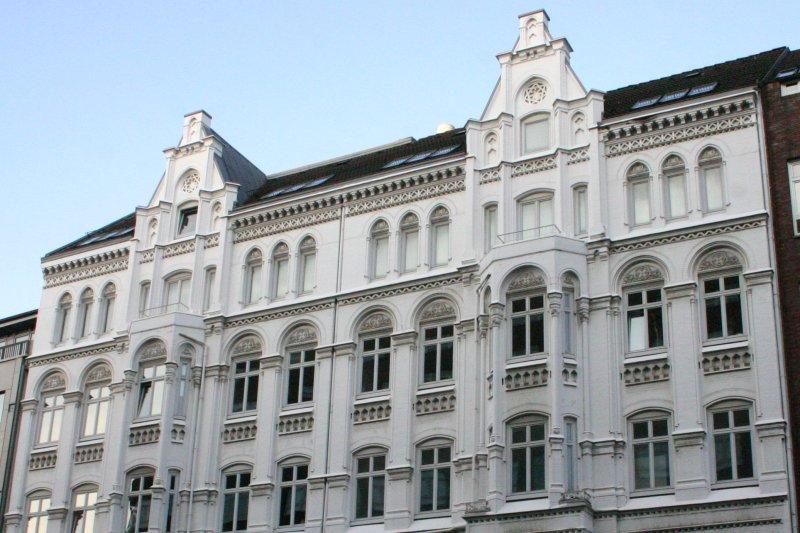 Un edificio al azar en Hamburgo