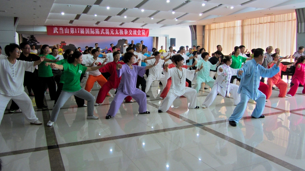 Master Wang teaching a seminar in China 2015