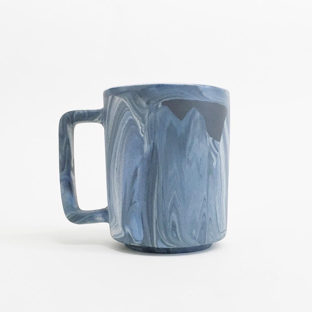Porcelain Marbled Mug, 2016
