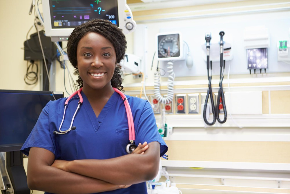 NICU Nurse with stethoscope