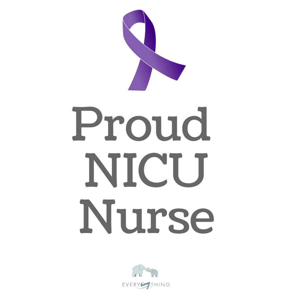 NICU Nurse Proud Prematurity Awareness Month Ribbon.png