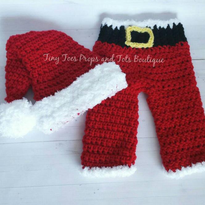 Preemie Santa Suit