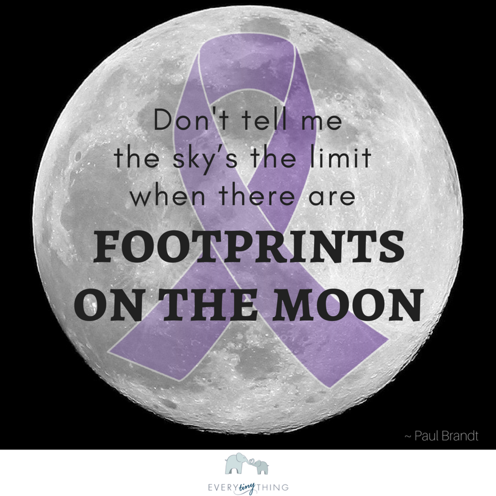 Footprints preemie quote