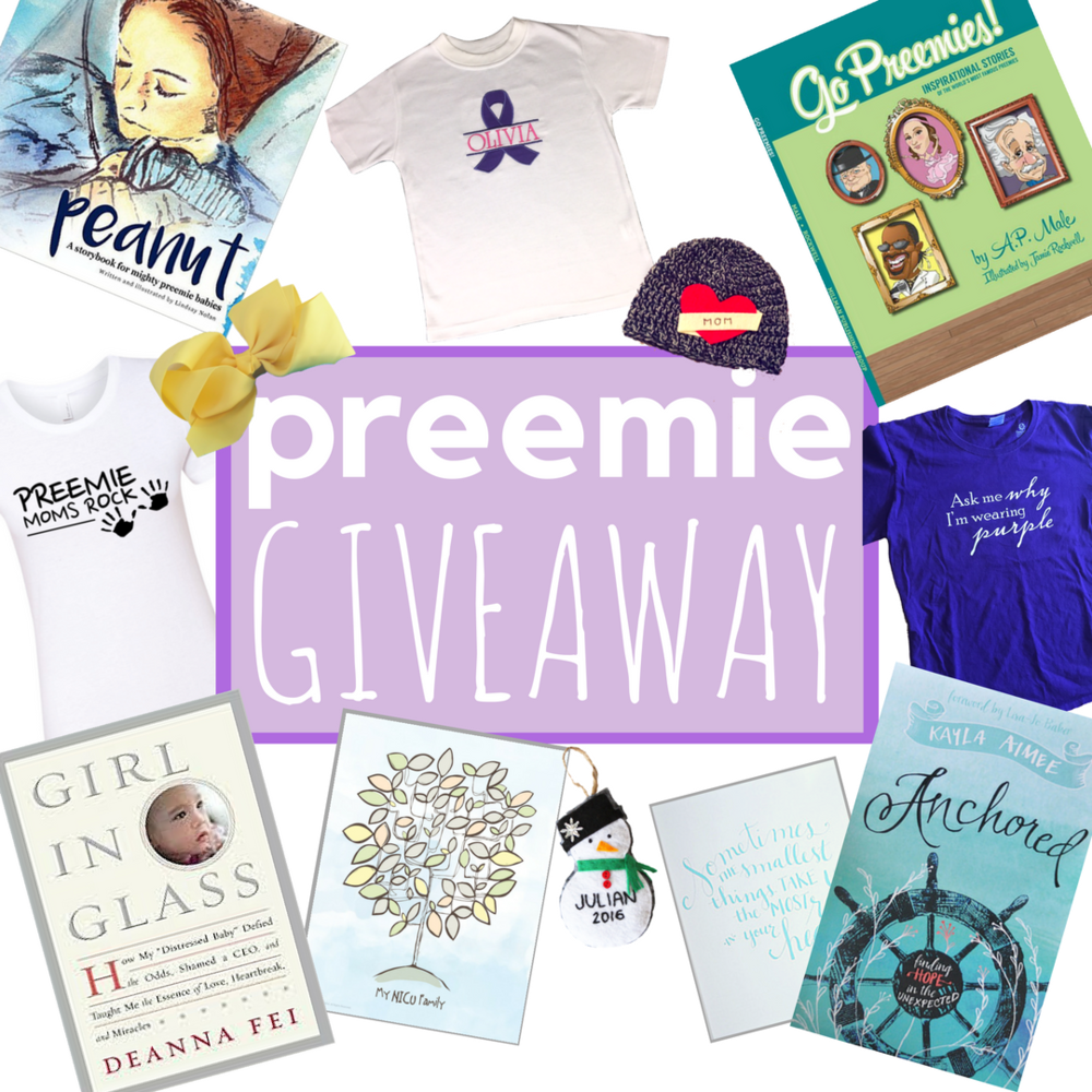Prematurity Awareness Month Giveaway on Instagram