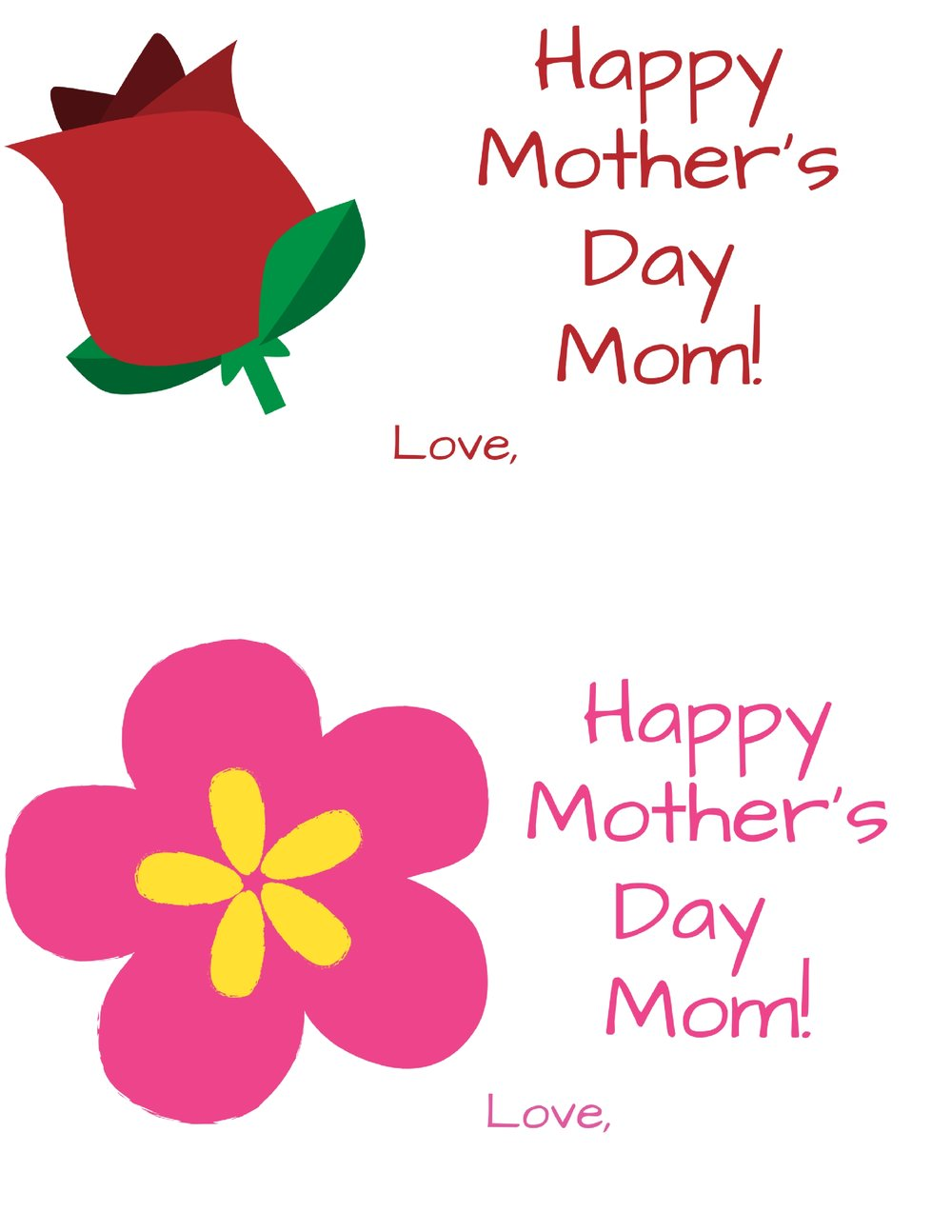 free printable mothers day image for NICU moms