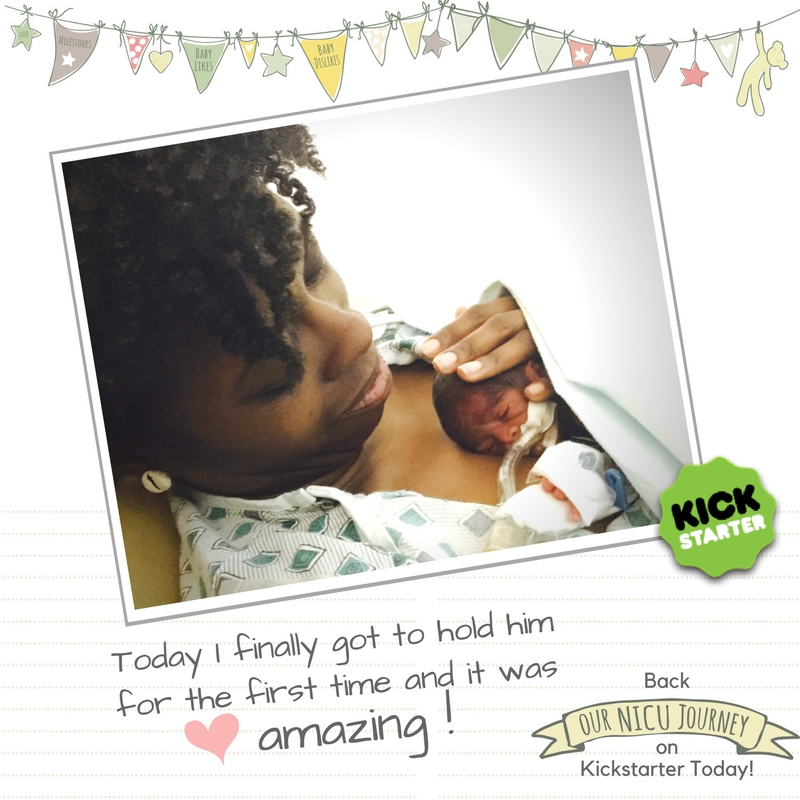 Our NICU Journey Kickstarter First Hold Instagram.jpg