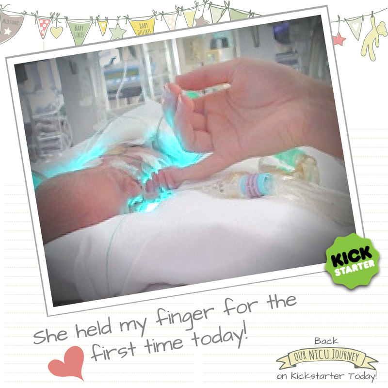 Our NICU Journey Kickstarter Finger Hold Journal.jpg