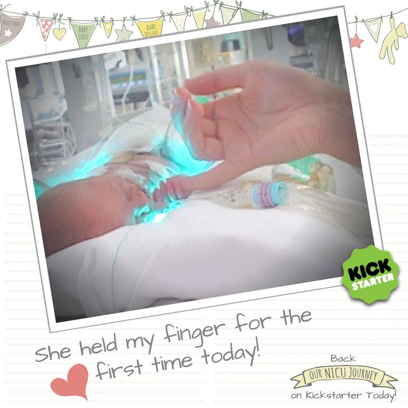 Our NICU Journey Kickstarter Finger Hold Journal.jpg