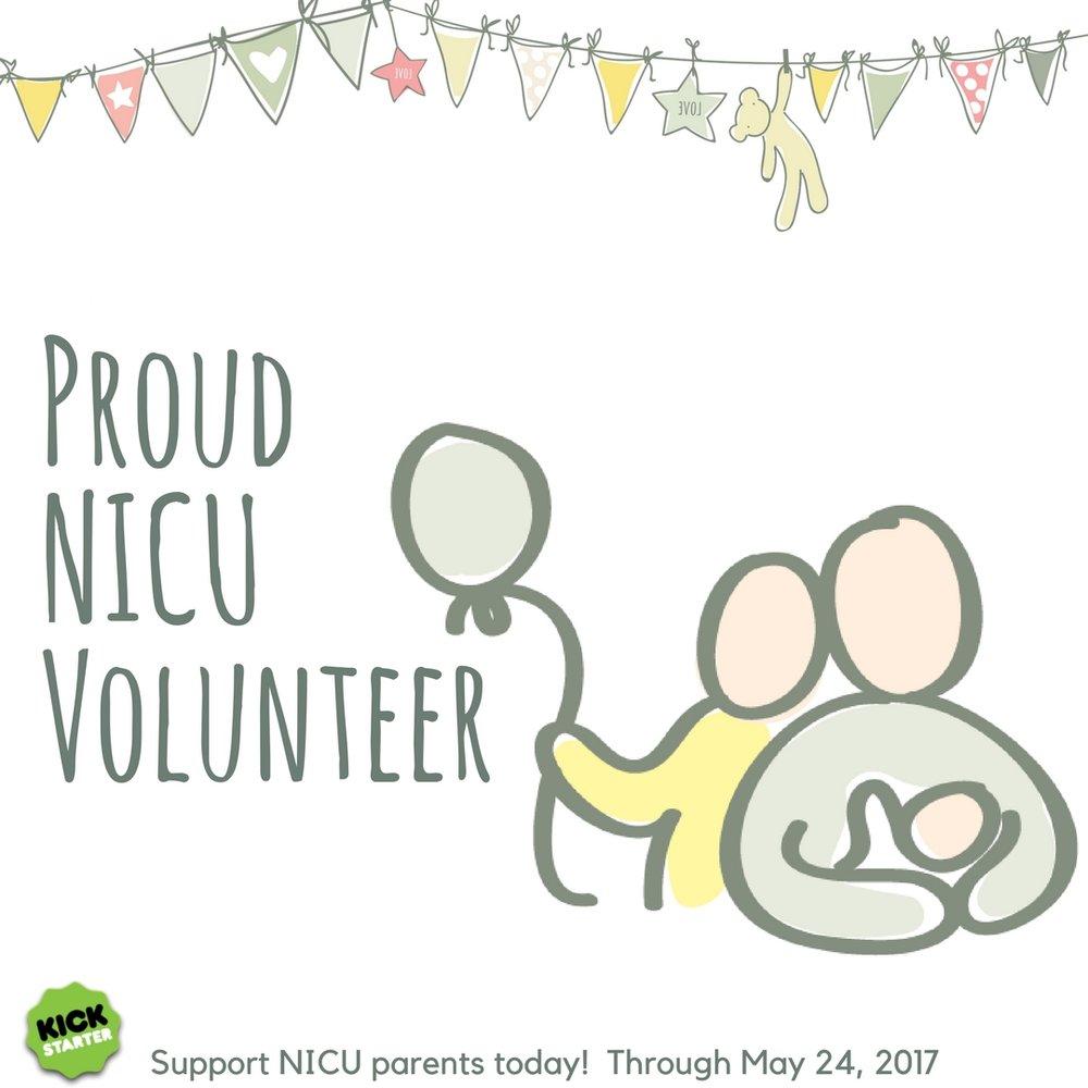 Kickstarter Preemie Journal Our NICU Journey Proud Volunteer.jpg
