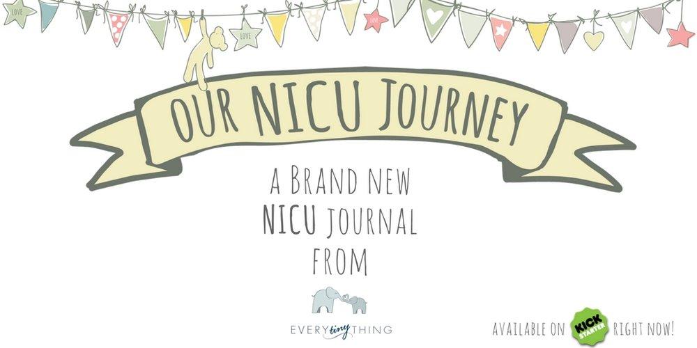 Kickstarter Preemie Journal Our NICU Journey Twitter Every Tiny Thing Logo