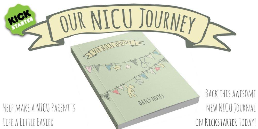 Kickstarter Preemie Journal Our NICU Journey Twitter Journal