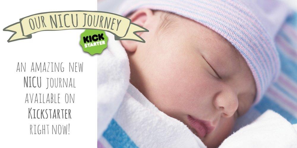 Kickstarter Preemie Journal Our NICU Journey Twitter Close Up