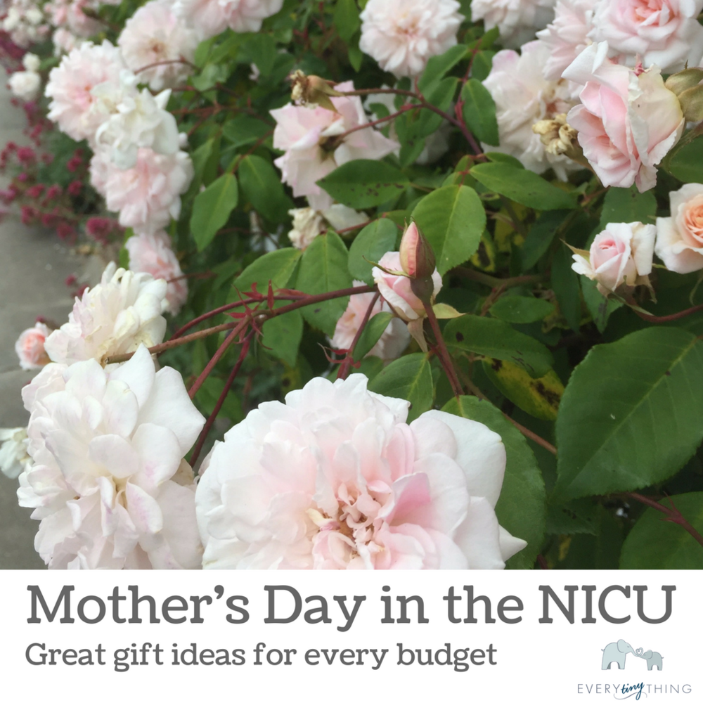 mothers day in the NICU gift ideas