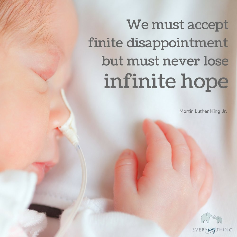 We must accept finite disappointment, but we must never lose infinite hope.jpg
