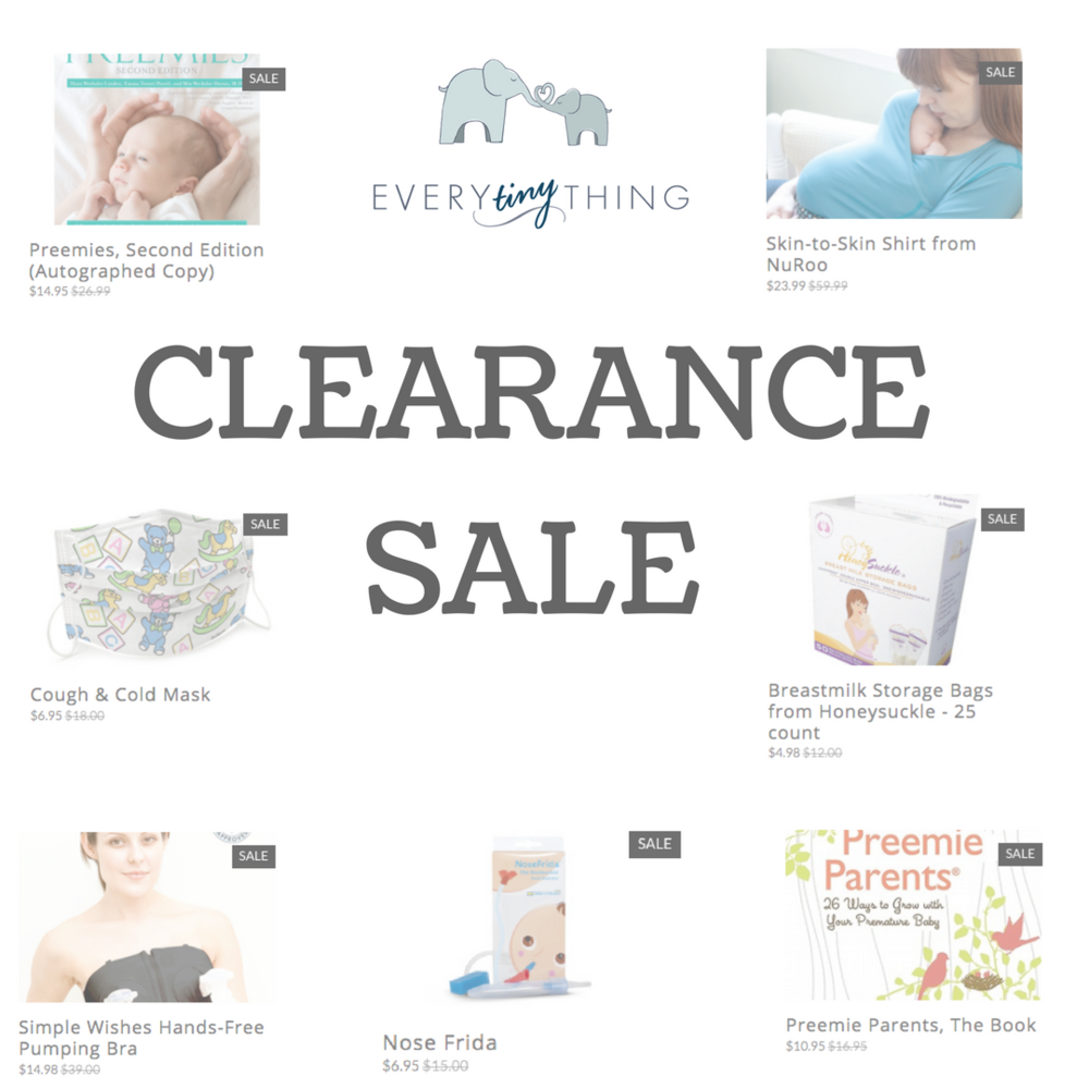 nicu sale clearance items