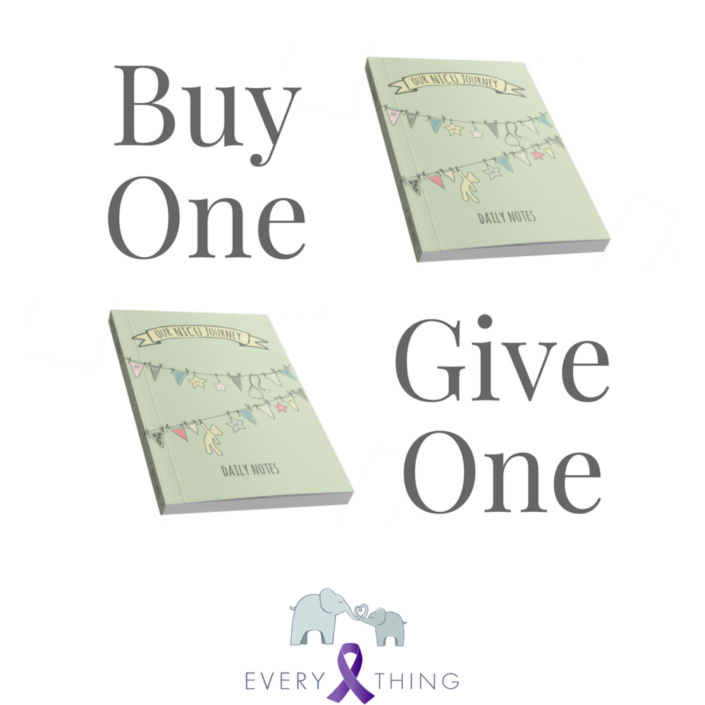 buy one give one sale for world prematurity day 2017