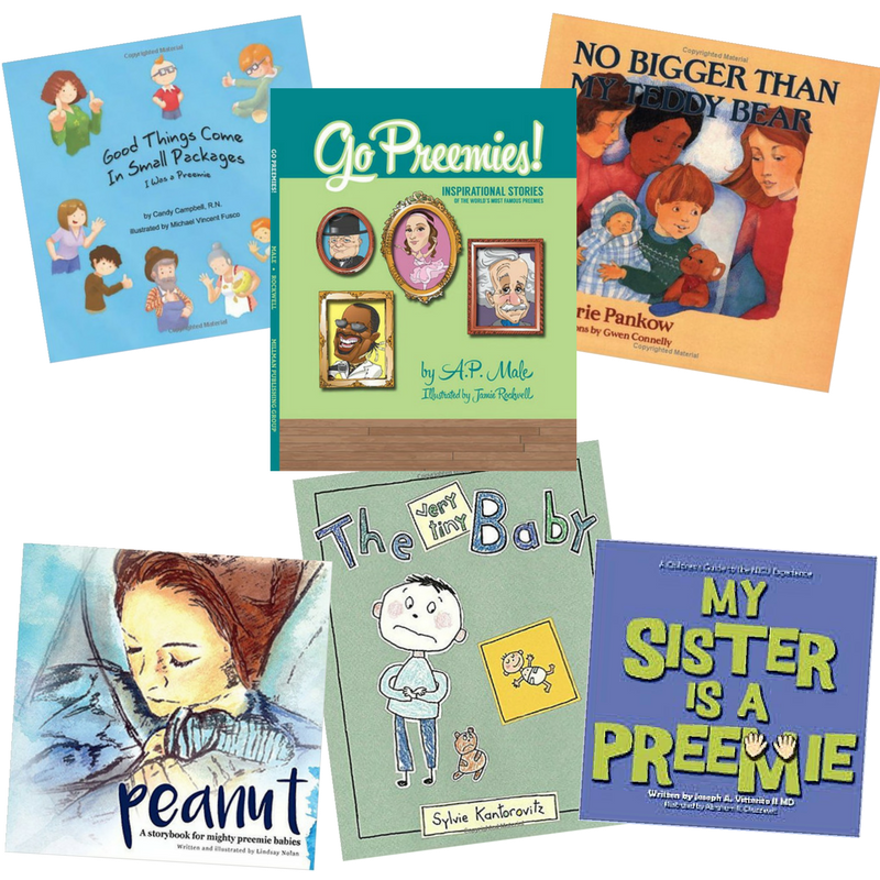 book recommendations for nicu babies and siblings