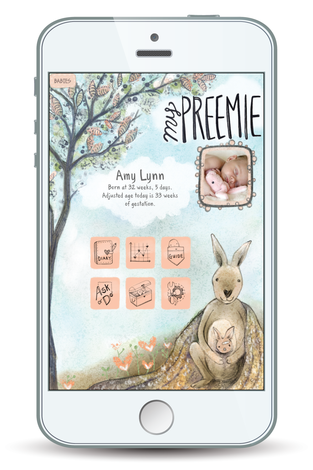 digital app for preemie