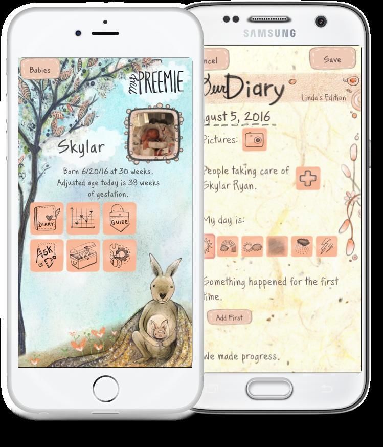 best app for preemie parents in the nicu