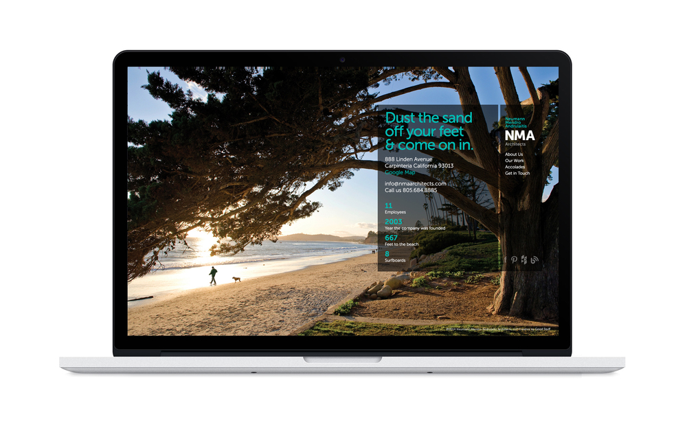 Good Stuff Partners, a communications agency in San Francisco, revamped architect firm NMA's brand strategy which helped them increase their digital presence.
