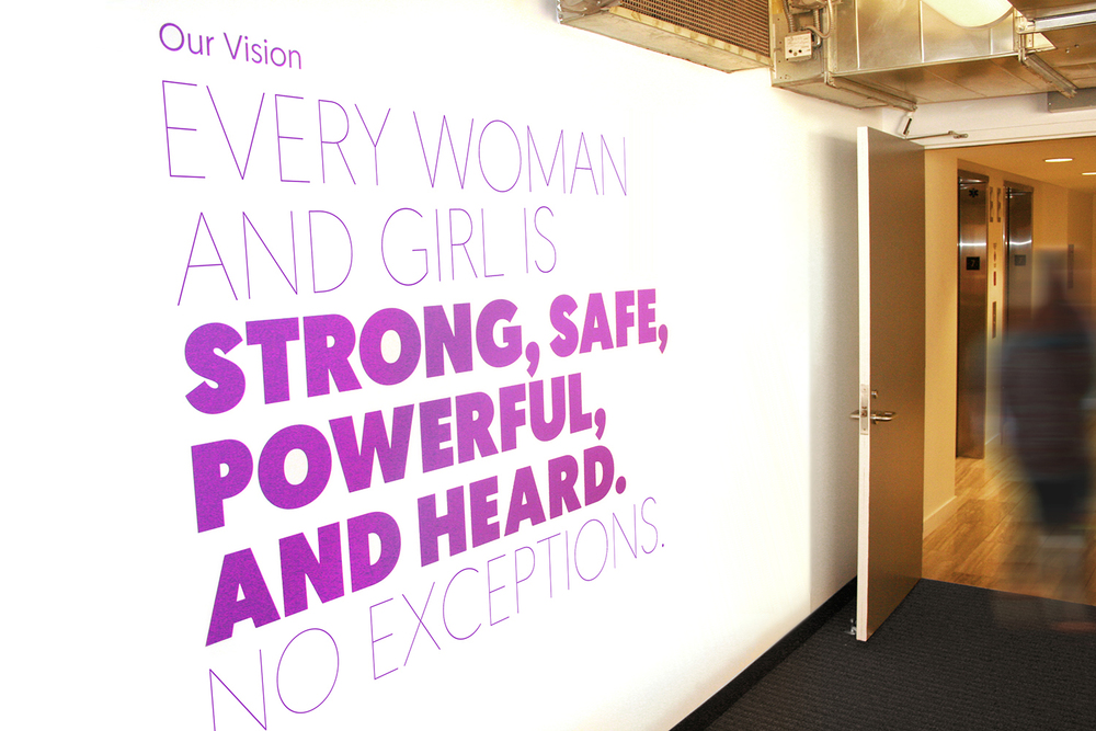 Global Fund for Women brand vision and office design by Local SF Branding Agency, Good Stuff Partners