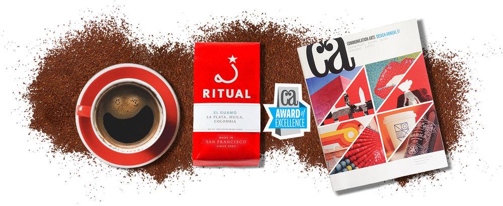 Ritual Coffee Award Winning Packaging Branding Strategy
