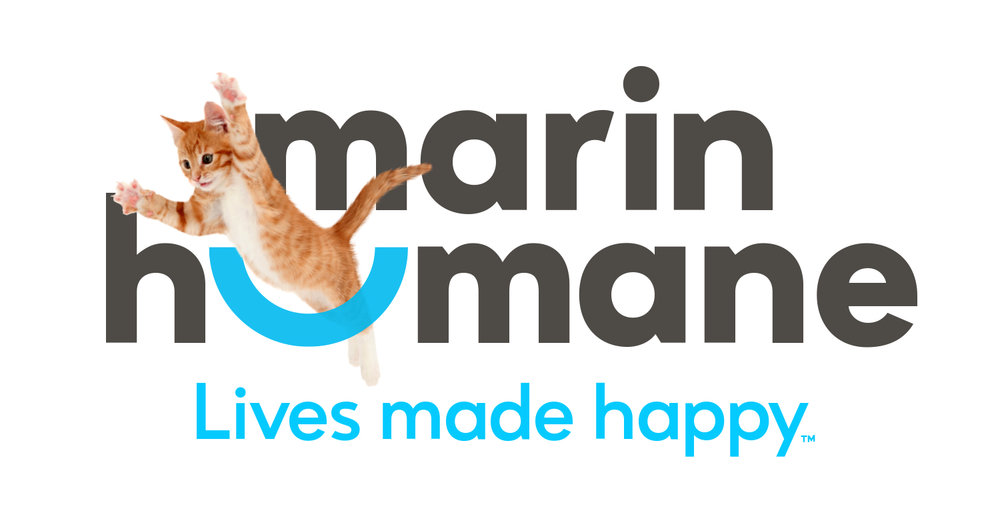Good Stuff Partners, a communications firm in San Francisco, created a new brand identity and tagline for Marin Humane.