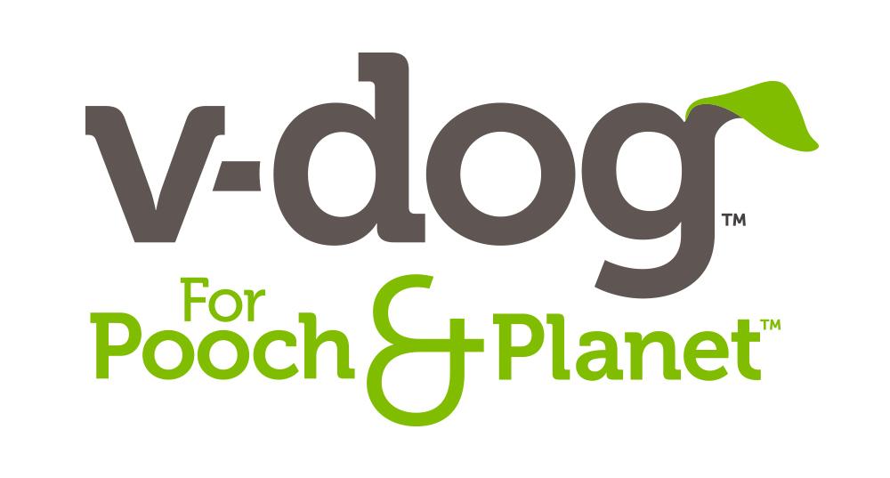V-dog brand identity & logo design