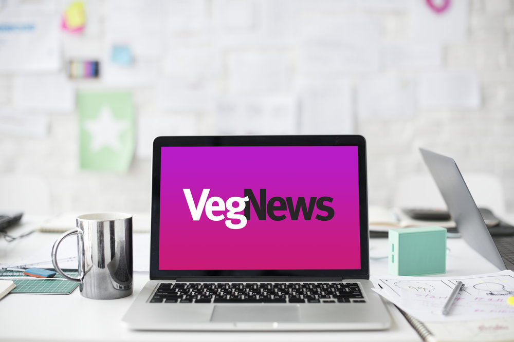 Good Stuff Partners, a design agency in the Bay Area, designed a new website for VegNews.