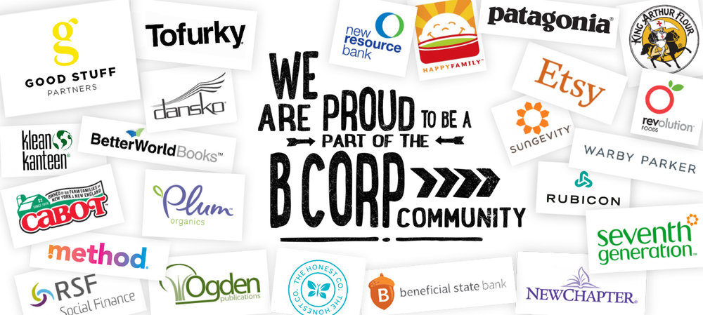 Good Stuff Partners, a design agency located in the Bay Area, is a B Corp.