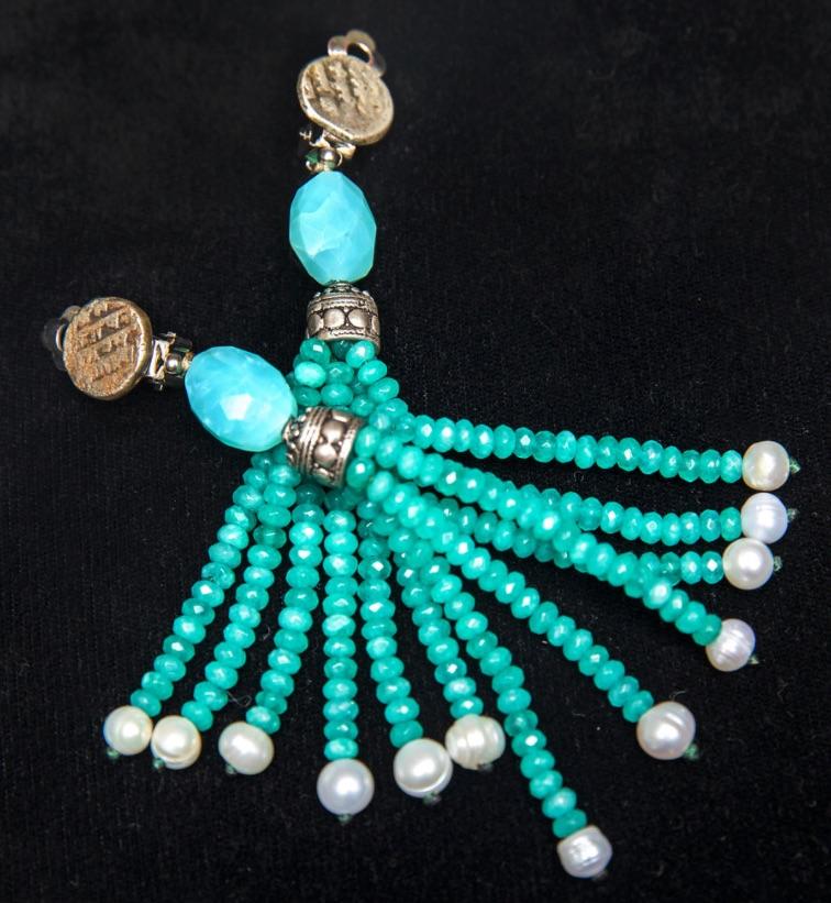 Beryl Emerald Earrings