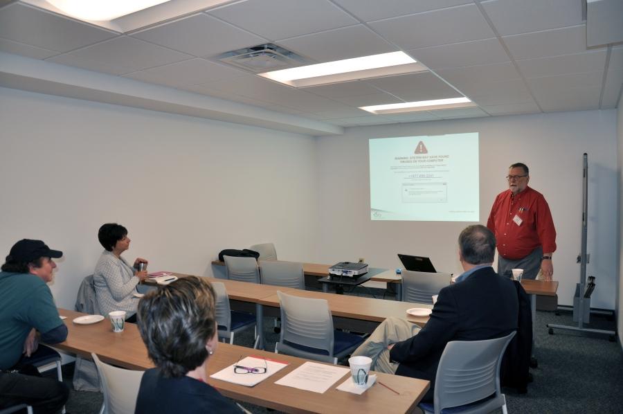 Amidon Training Room - Training format