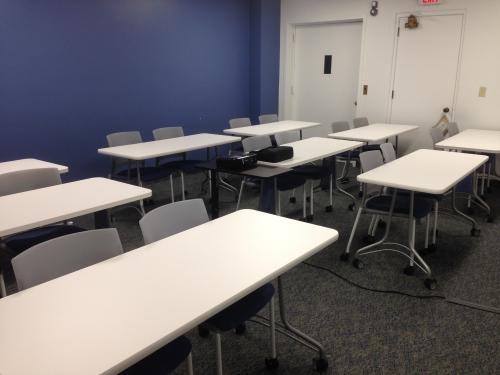 Think Tank training room