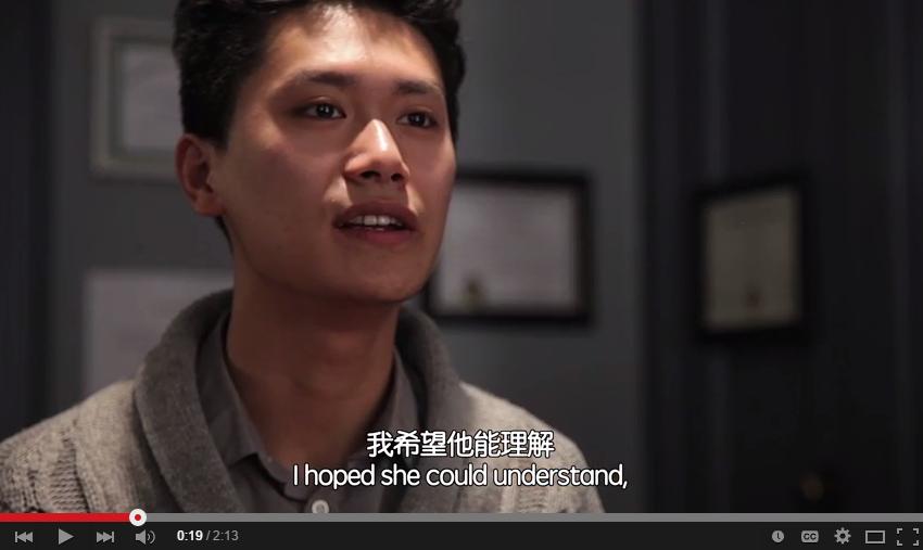 一分钟留学故事分享系列:李晟