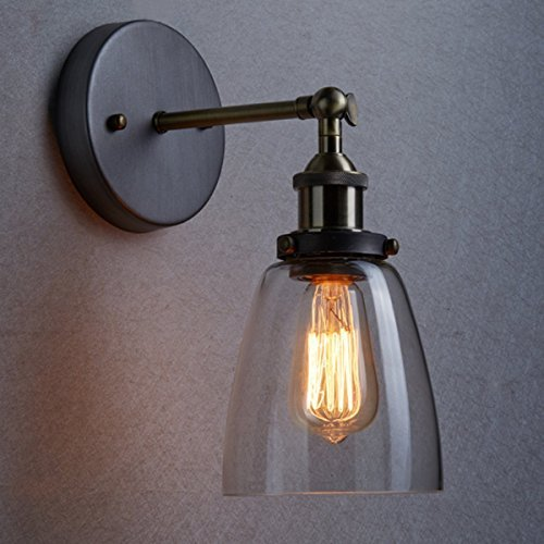 Vintage Industrial Glass Wall / Pendant Ceiling Light U2014 The Retro Boutique