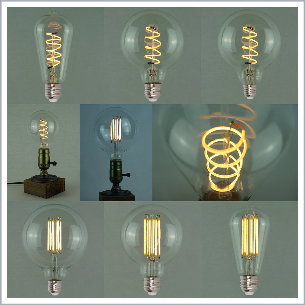 Vintage Edison LED Light Bulbs