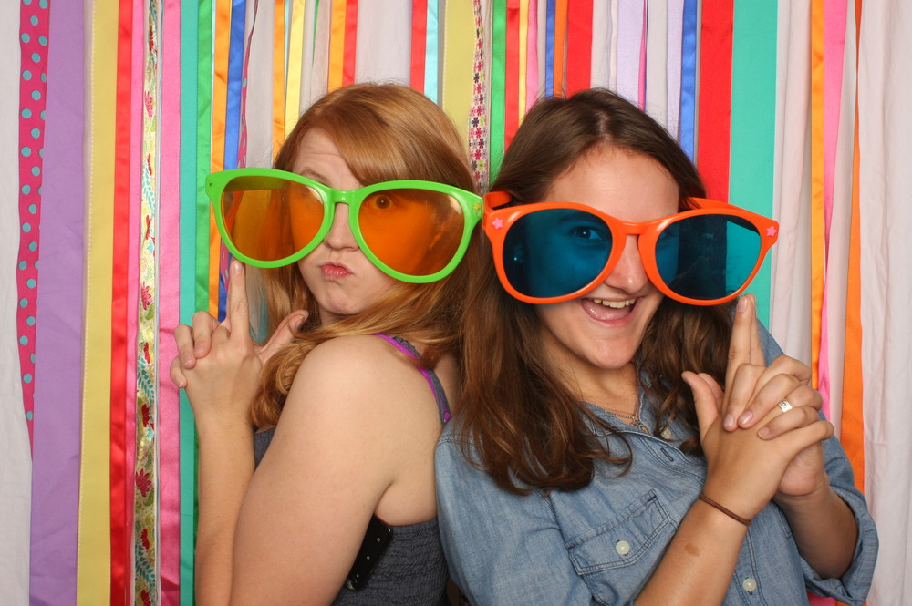 Our backdrops are fun!