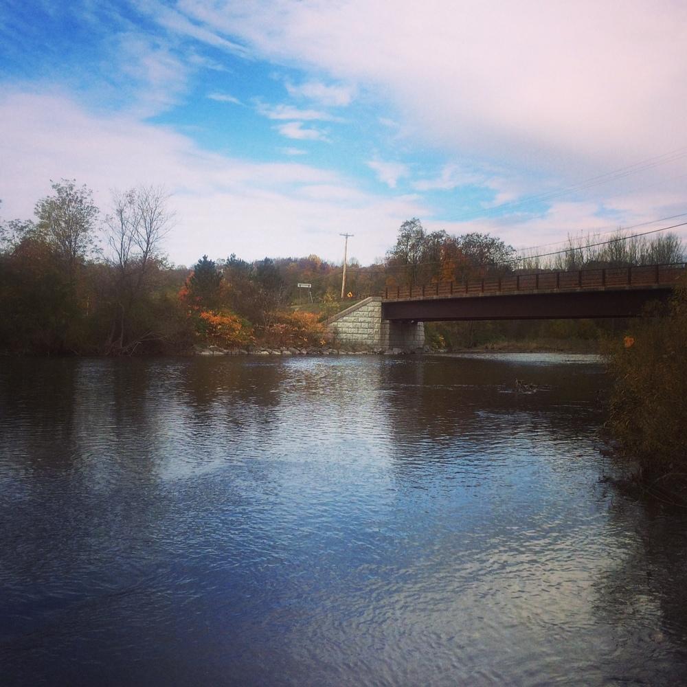Mohawk River, Westernville, NY