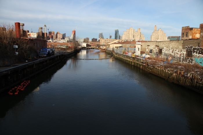 Gowanus Canal. Copyright 2015, Christopher Swain.  All rights reserved.