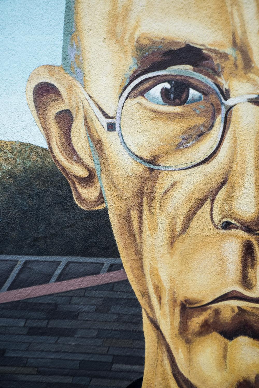 American Gothic mural, Columbus, Ohio. 2014