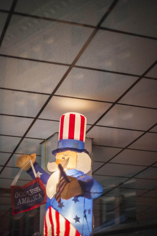Godless America. Cumberland, Md. 2014